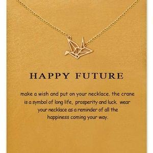 "Jewelry - ""Happy Future"" Necklace"